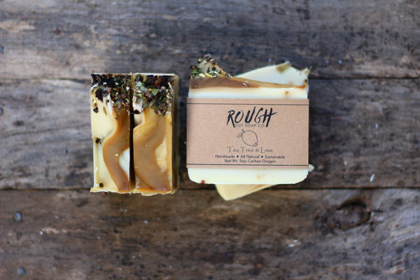 Tea Tree & Lime Bar Soap