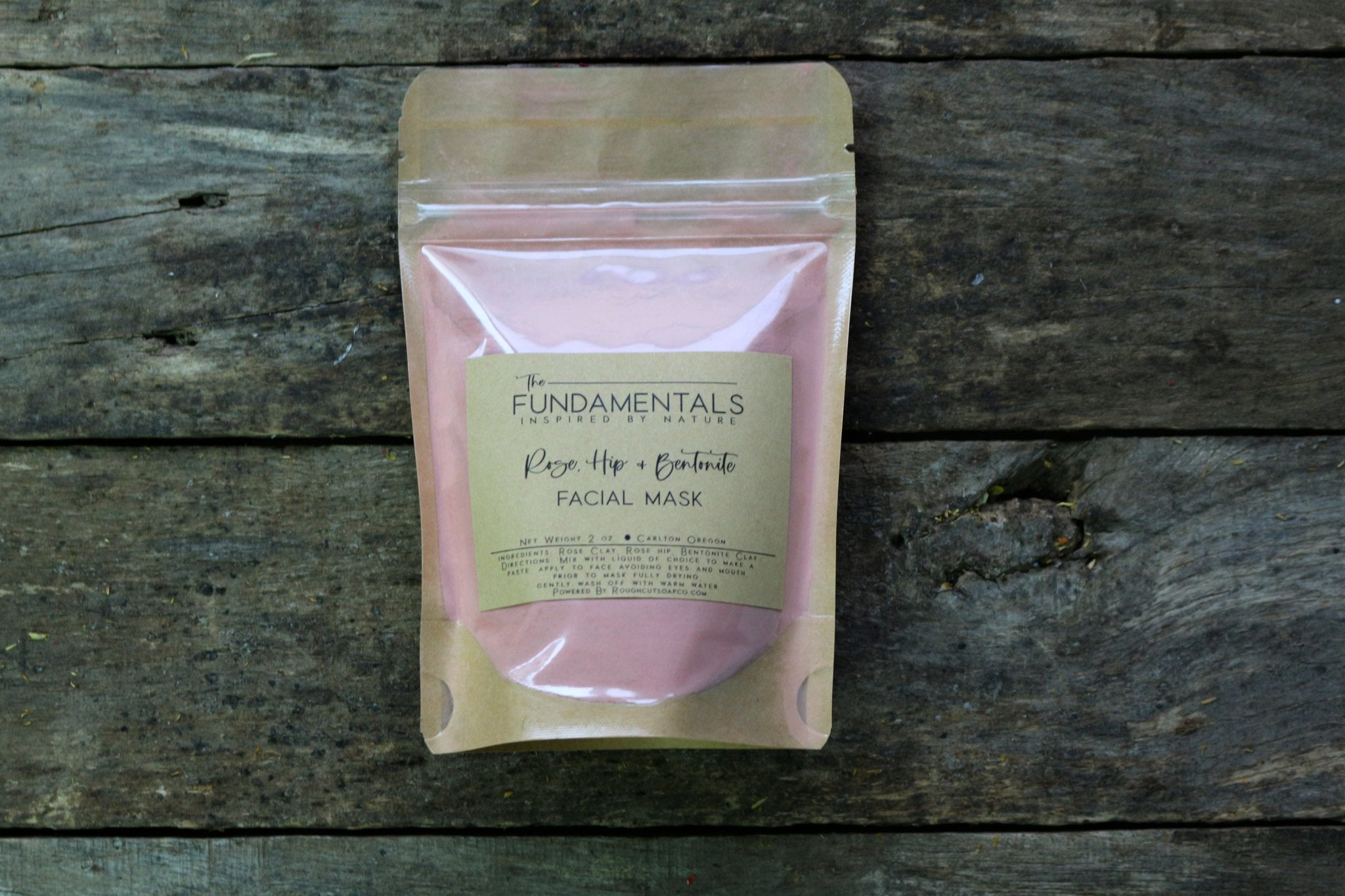 Rose Hip & Bentonite Facial Mask