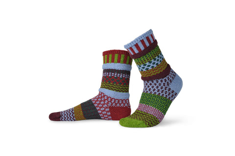 Crew Socks - Elderberry