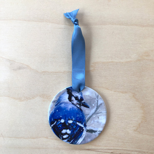 Bluejay Ornament