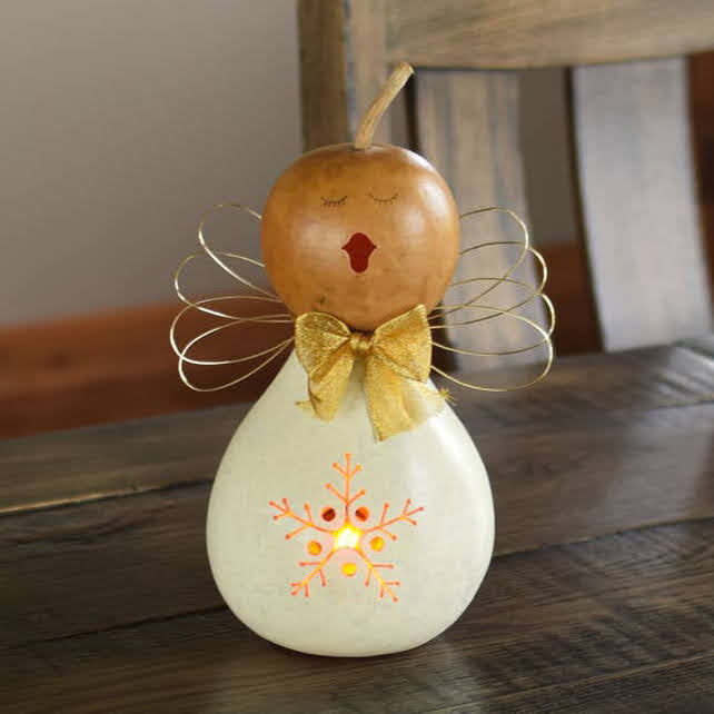 Julia Angel Gourd Luminary