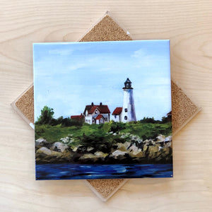Baker's Island Lighthouse Trivet