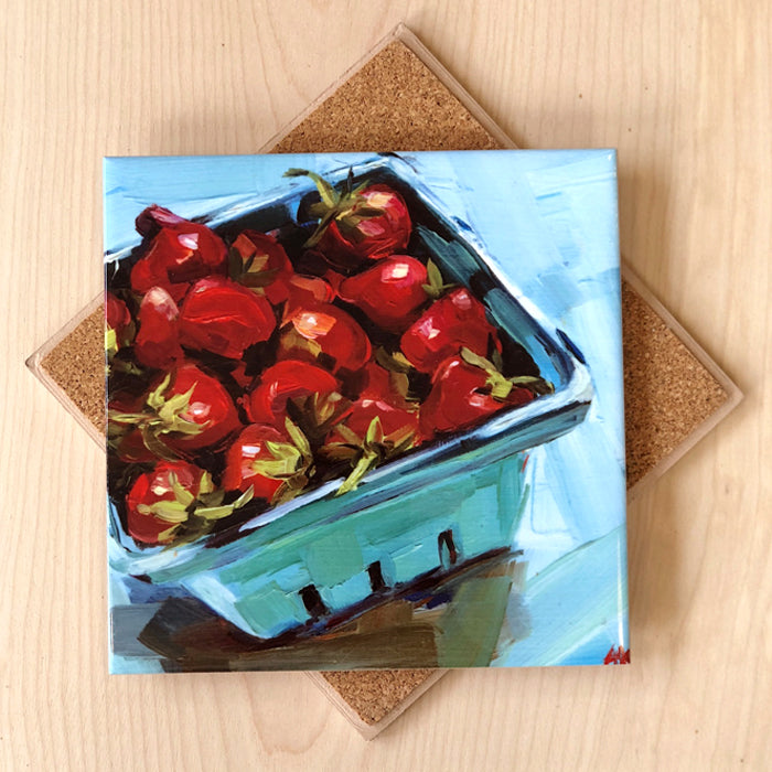 Strawberries Trivet