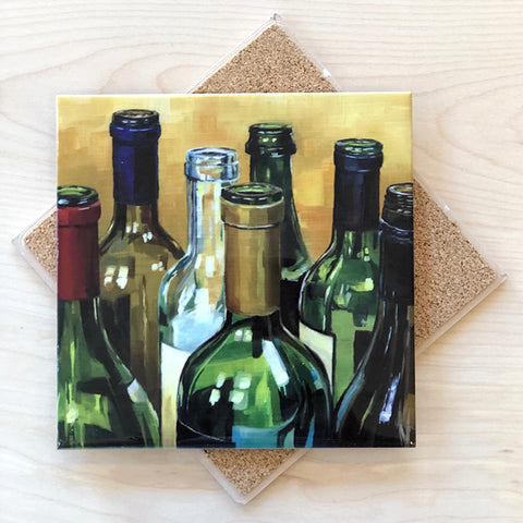 Wine Bottle Trivet