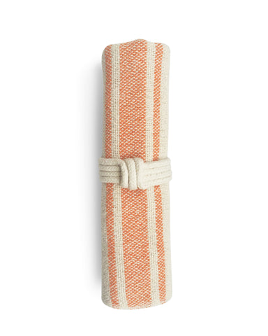 Vintage Stripe Napkin - Orange