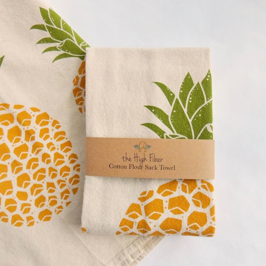 Pineapple Tea Towel