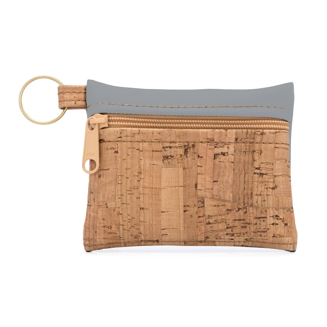 Cool Gray Key Chain Pouch