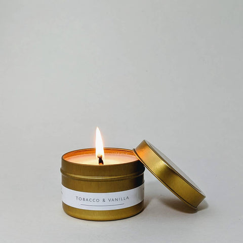 Tobacco & Vanilla Candle 4oz