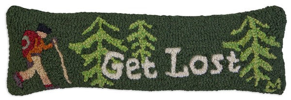 Get Lost Pillow 8 x 24""