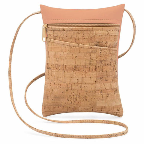 Peach Mini Cross Body Bag