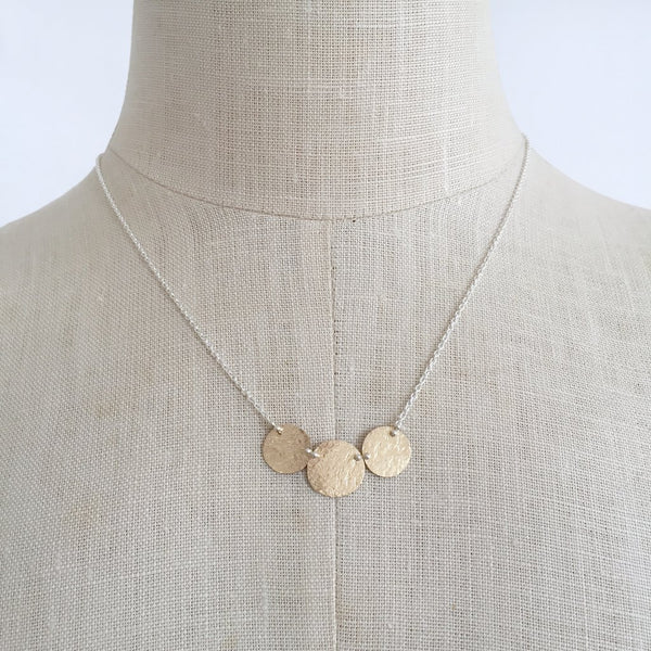 Gold Trinity Necklace