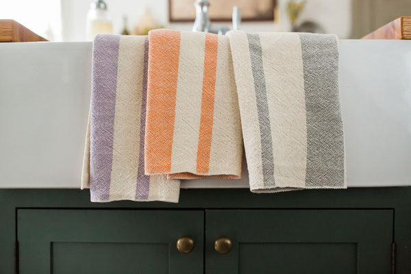 Everyday Tea Towel - Orange