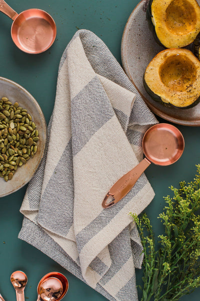 Everyday Tea Towel - Light Gray