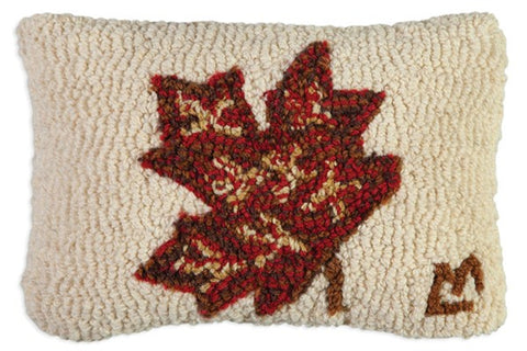 Maple Leaf Pillow 8x12""