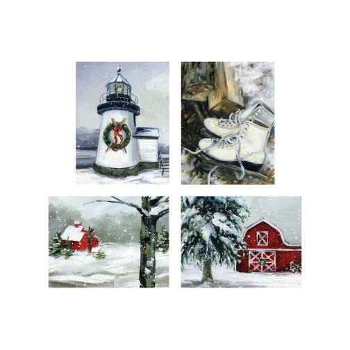 Winter Boxed Cards