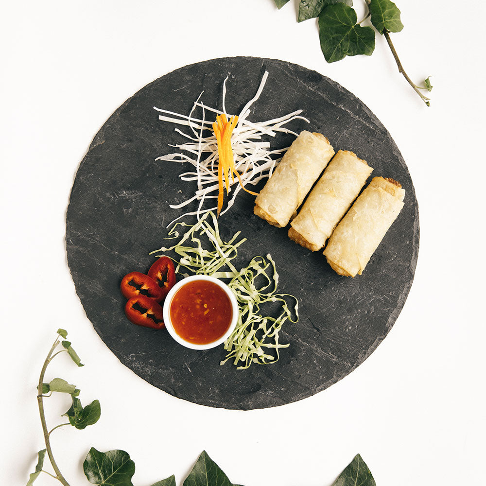 Chicken and Vegetables Spring Rolls