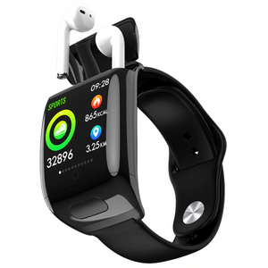 SoundWatch™ - Smart Watch 2 in 1 - Black Muze