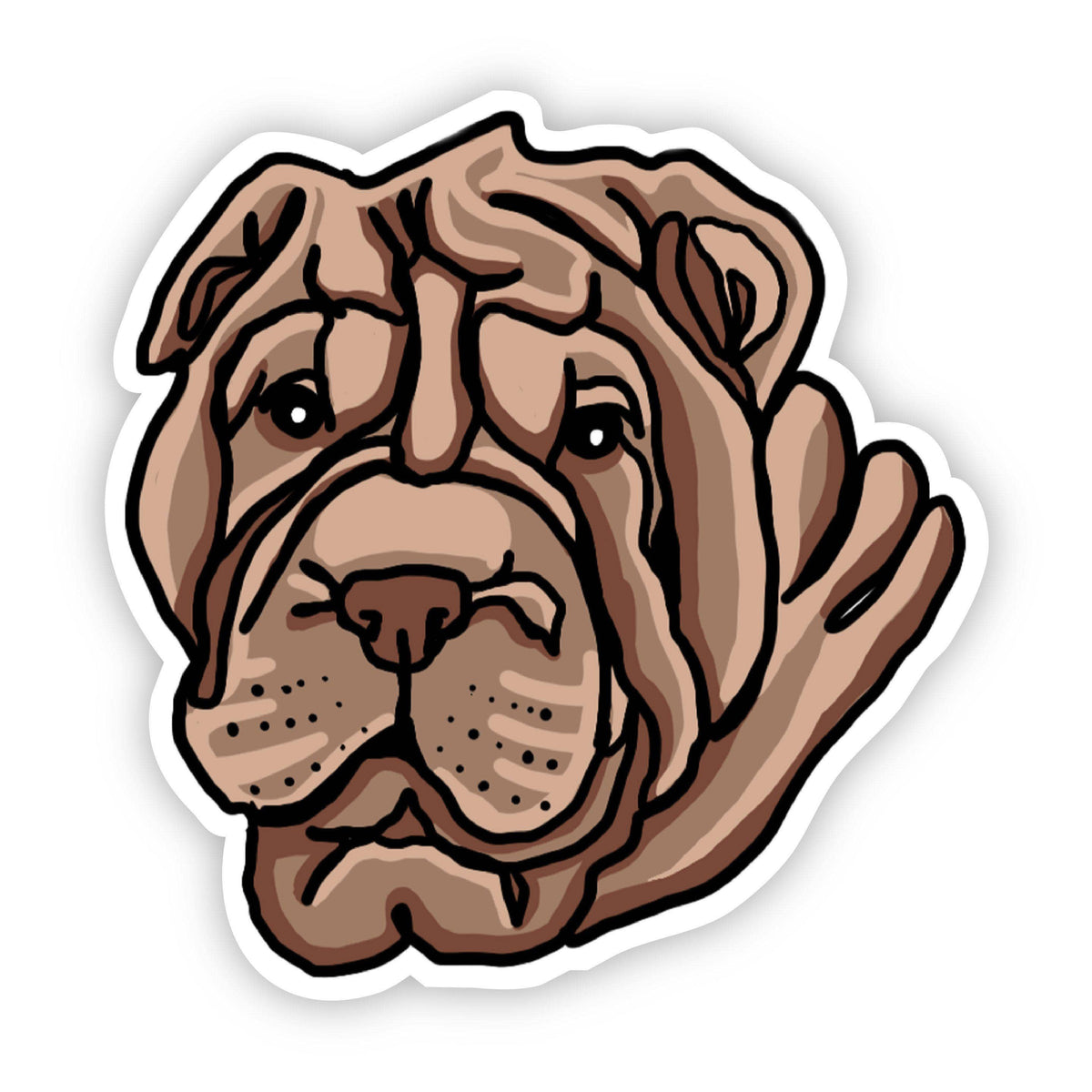 Shar-Pei Dog Sticker