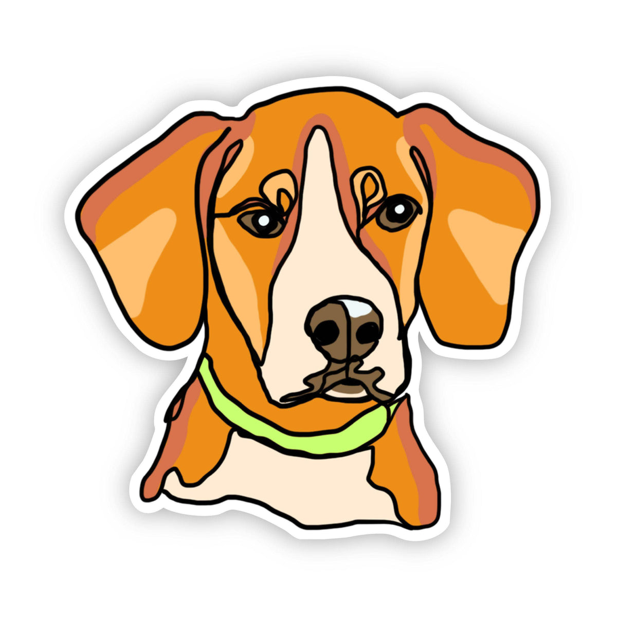 Beagle Dog Sticker