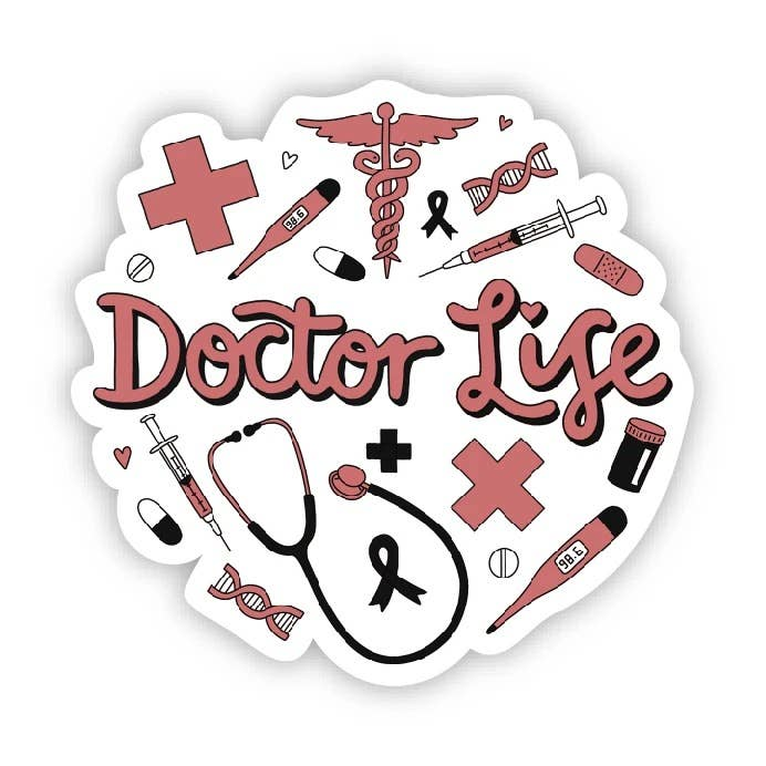 Doctor Life Sticker