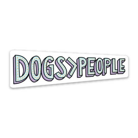 Dogs People Sticker