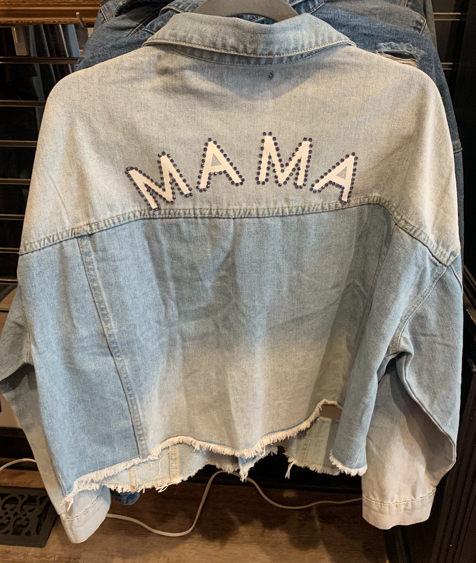 Made by Mack Bejeweled 'Mama' Jacket