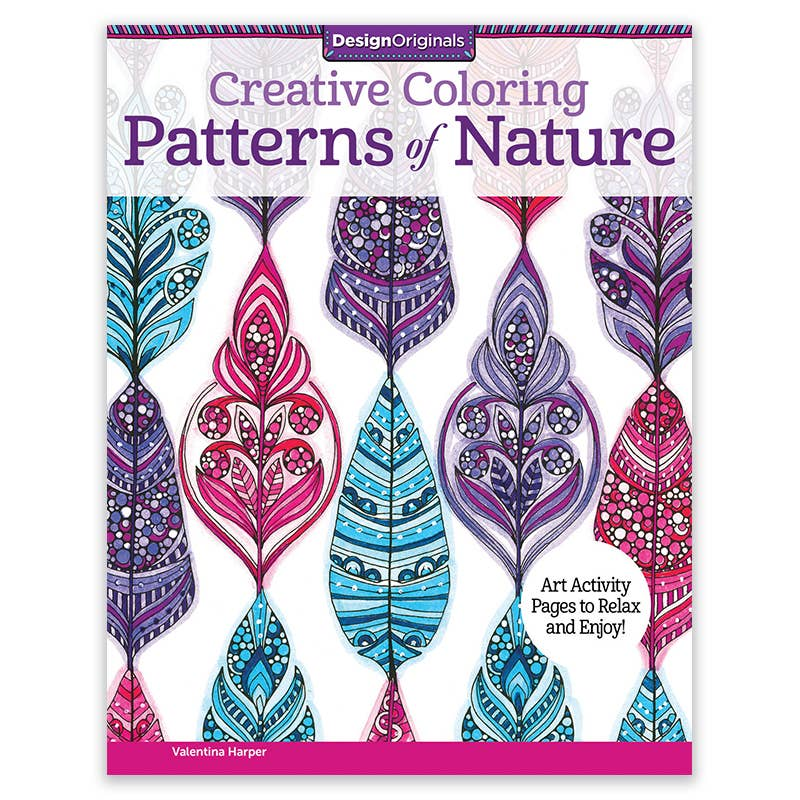 Patterns of Nature Coloring Book