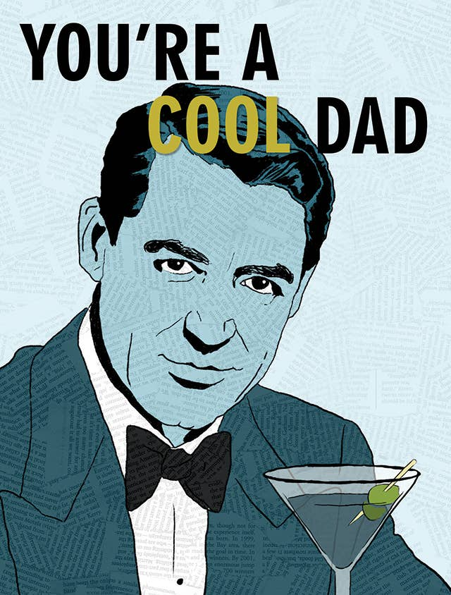 Cool Dad Cary Grant Card