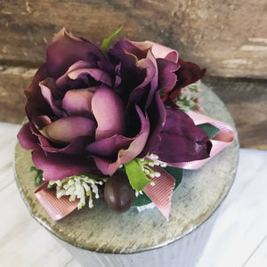 Rich Colors Corsage
