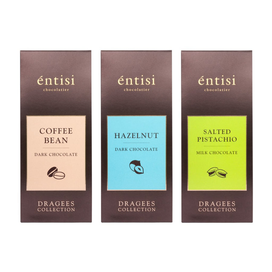 entisi-chocolatier-pack-of-3-dragees-salted-pistachio-coffee-beans-hazelnut-chocolate-coated-nuts