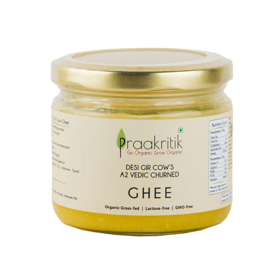 praakritik-desi-gir-cow-A2-organic-ghee-bilona-hand-churned-220-ml