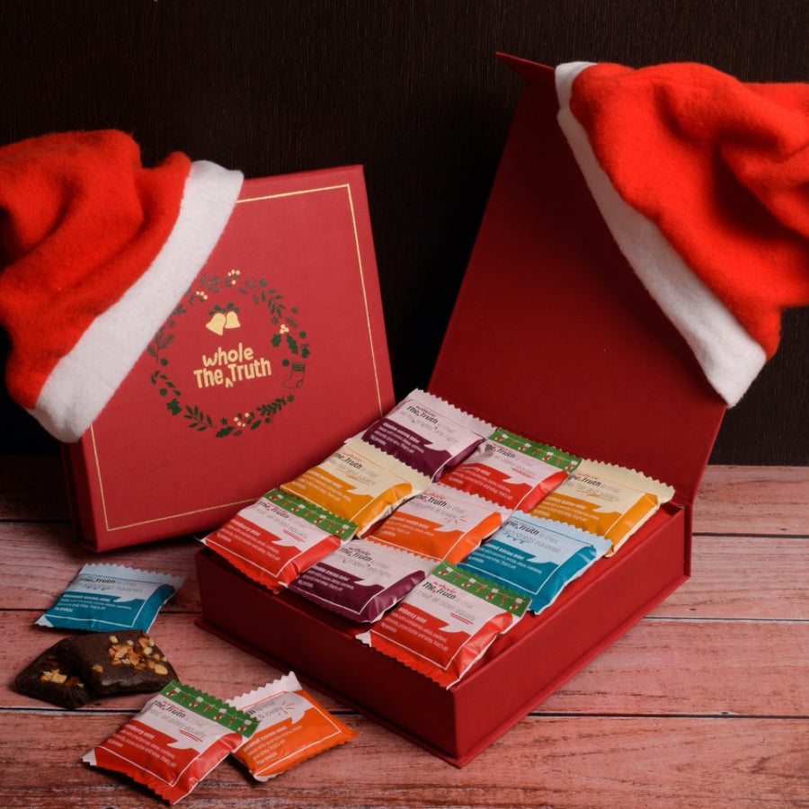 the-whole-truth-christmas-gift-hamper-12-assorted-minis-2-santa-hats