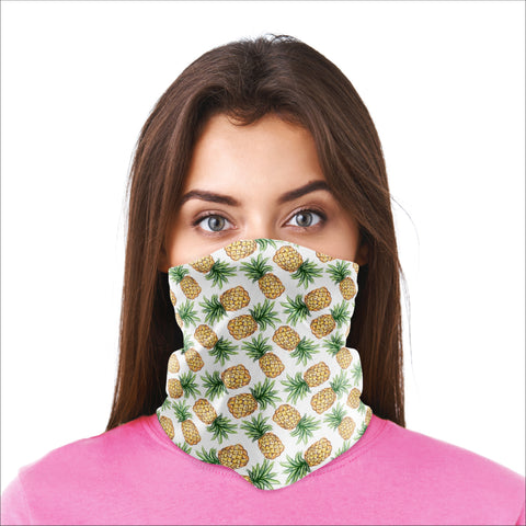Bandana Mask - Pineapples