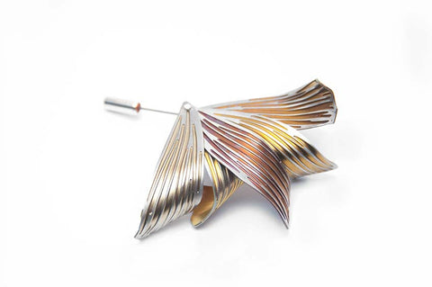 Brooch Titanium Contemporary Jewellery