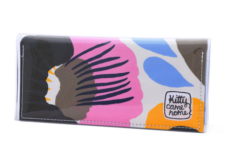 Kitty Came Home - BI-FOLD CLUTCH - HATTARAKUKKA 1, BY AINO-MAIJA METSOLA FOR MARIMEKKO