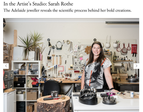 Broadsheet Adelaide Sarah Rothe Artist Studio Workshop