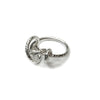 Glitter Rope Ring / Sterling Silver