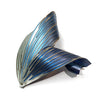 Large Petal Brooch - Blue