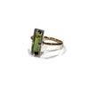 Tourmaline, 9ct Yellow Gold & Sterling Silver