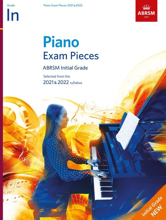 ABRSM Piano Exam Pieces Initial 2021-22 Book