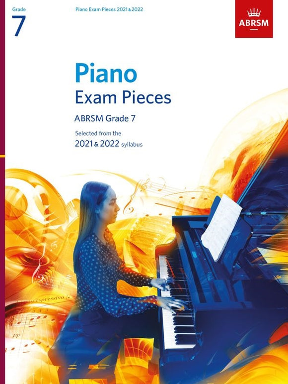 ABRSM Piano Exam Pieces Grade 7 2021-22 Book