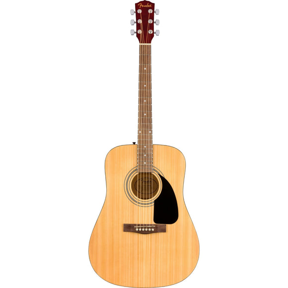 Fender FA-115 Dreadnought Acoustic Pack, Natural, Walnut Fingerboard