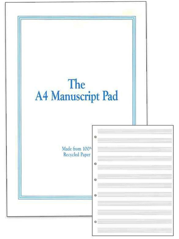 The A4 Manuscript Pad