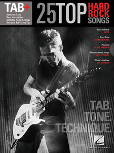 25 Top Hard Rock Songs - Tab. Tone. Technique.