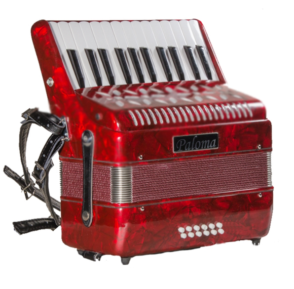 Paloma 702 12 Bass Accordion