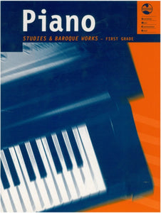 AMEB Piano Studies And Baroque Works Grade 1