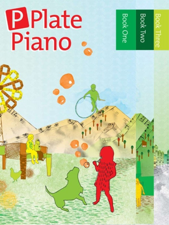 AMEB P Plate Piano Complete Pack Books 1-3