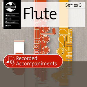 AMEB Flute Grade 3 Series 3 Recorded Accompaniments