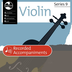 AMEB Violin Grade 1 Series 9 Recorded Accompaniments