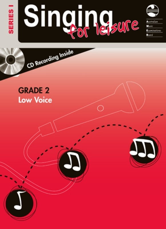 AMEB Singing For Leisure Grade 2 Low Voice Series 1